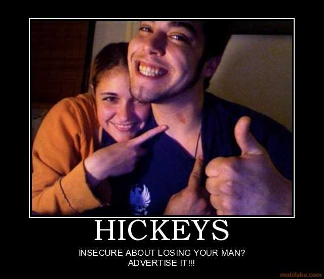how to fake a hickey