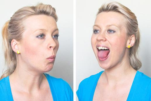 how to get rid of chubby cheeks in a day